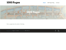 Tablet Preview of 1000pages.org